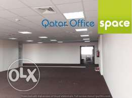 || 100 sqm Office space in Al saad at 12,000 QR/month ||