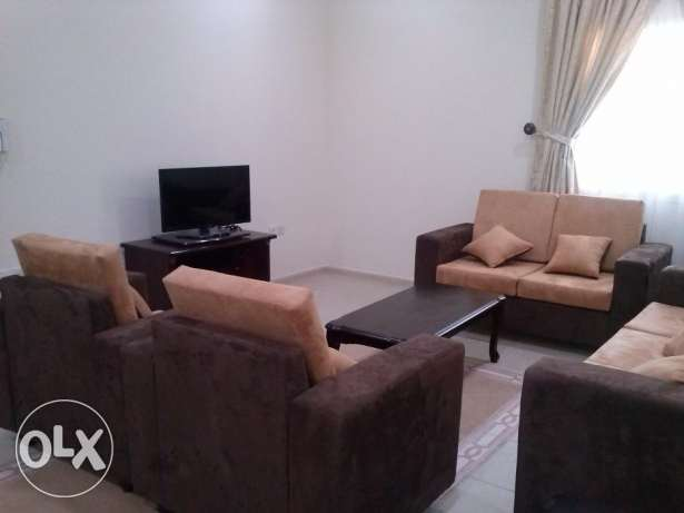 Neat and clean and spacious 2 bedroom fully furnished apartment