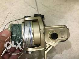 Fishing Rod + Gear ( Very Good Brand) = 250 QR