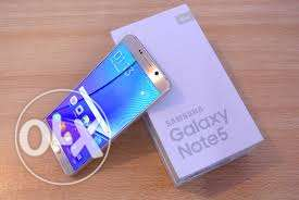 Samsung Note 5 Gold for sale
