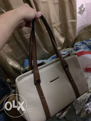 New Light Brown Color First Class Leather Bag for Sale for Only 120QR