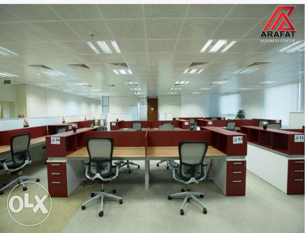 Offices in Barwa Tower