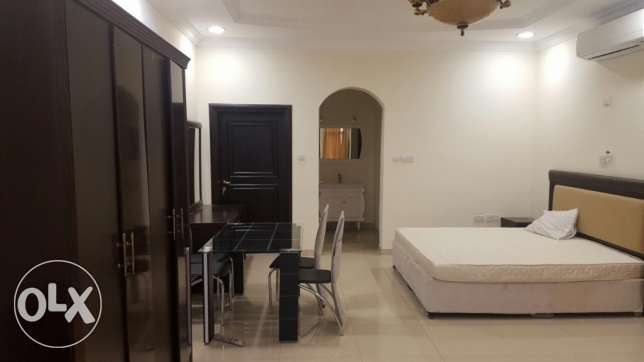 Furnished studio available near sports club
