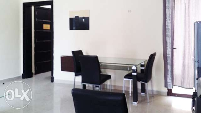 Fully-Furnished, 1-Bedroom Apartment in [Muaither] معيذر‎ -  2
