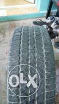 4 tyres good condition for gmc