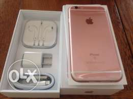 Apple iphone 6s 64gb gold with complete accessories
