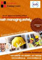 study IOSH and be a safety officer