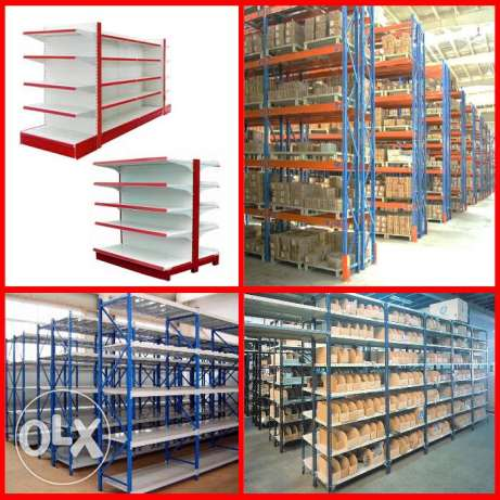 Shopfitting and Warehouse shelving systems