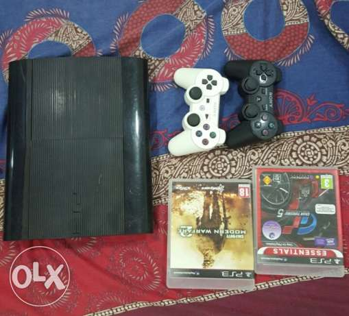 Selling PlayStation 3 with 2 Controllers, 2 Games and Epilator