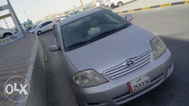 Good condition corolla 2003