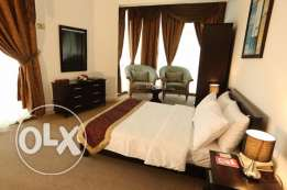 To Occupy Luxury 1 bhk Fully furnished Hotel Apartment Dar Al khutub