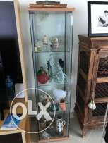 Glass Display Cabinet - IKEA