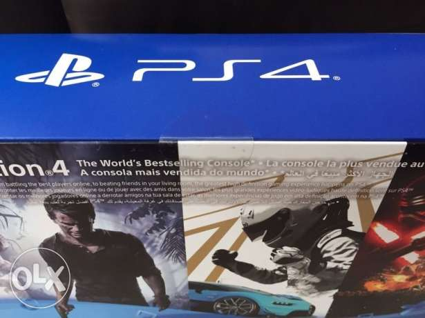 ps4 pro sealed in box