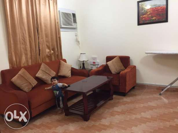 1 BHK Fully Furnished EZDAN-56 Wakra -3 Months- May last to end of Aug