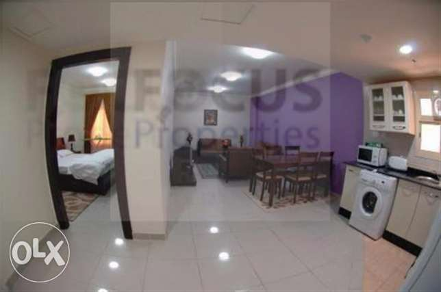 NO COMMISSION..1 bedroom fully furnished apartment in Doha Jadeed