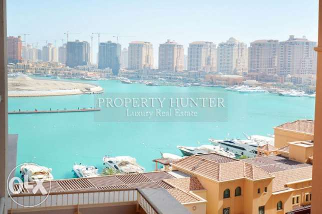 Furnished 1 Bedroom with Marina Scenery