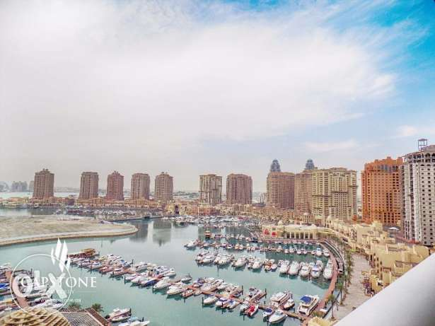 FREE ONE MONTH   Direct Marina View   Spacious 3BR Apt.