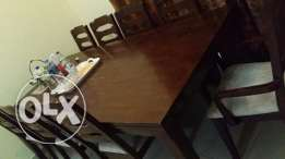 Dining table 8 seater without chairs