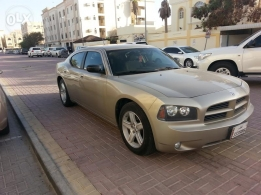 Dodge Charger with special regester number beige/gray color- 2008