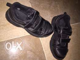 used black rubber shoes for kids from Skechers size 35 for only 55QR