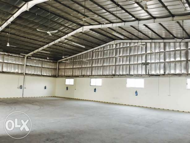 700 Sqm store in Indusrial area