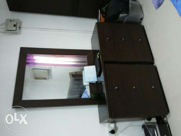 dressing table,bed,refrigerator ,washing machinecall