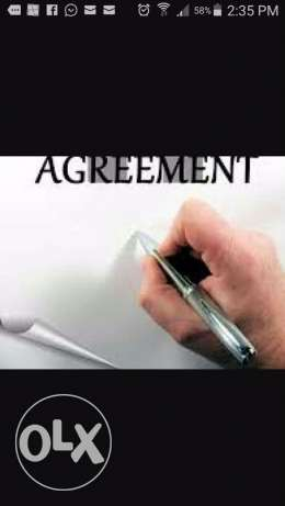 house contract/tenancy agreement