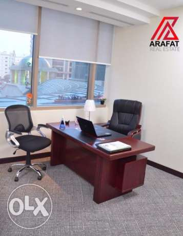 Spacious office  for rent in Barwa Tower