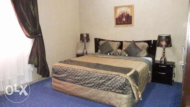 2-BR Fully-Furnished Apartment At -Al Sadd-
