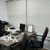 Office for rent in umm Ghuilina by gareer Library