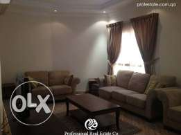Fully-Furnished 1/BHK Flat in Al Sadd, [Near Ahli Bank]