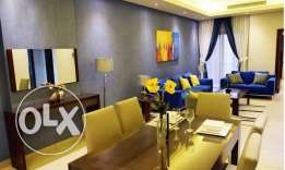 Luxury FF 2-BR Flat in Umm Ghwaylina, No Commission,Gym,Pool,Spa