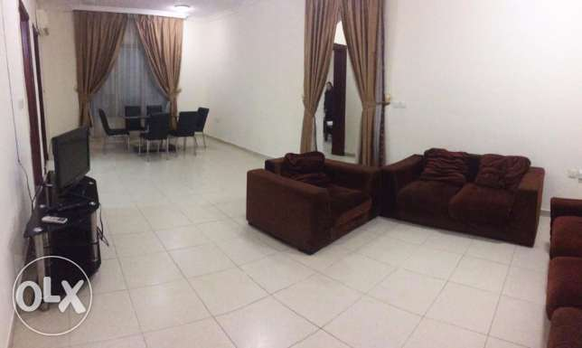 Fully Furnished, 2/Bedroom Flat - Al Mansoura (with Balcony)