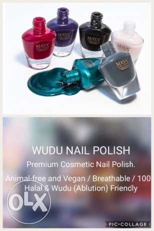 Halal wudu- friendly nail polish