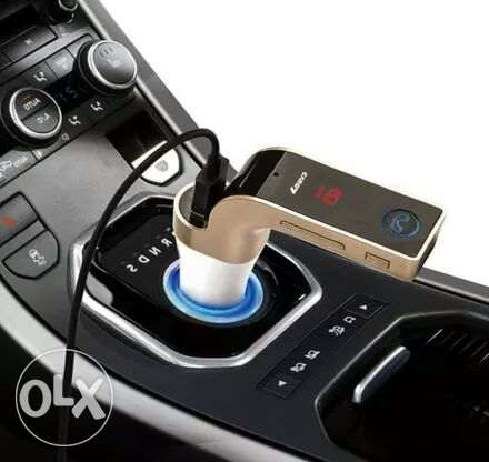 Car Bluetooth with USB Aux Memory Card and Charging Slot All in one