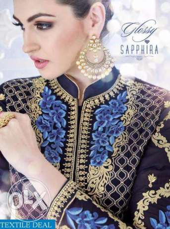 Glossy-Sapphira-Wholesale-Designer-Wear-ladies-Suits