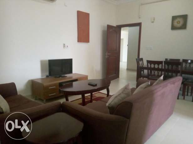 Fully furnished 2 bedrooms flat in Doha Jaded