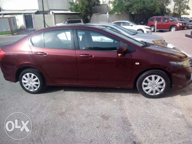 Honda City 2012 for sale... Color Maroon/Red