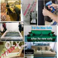 House, villa & office used sofa upholstery & Repairing