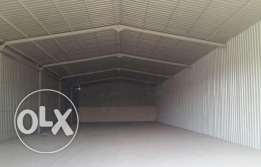 Garage  for rent 200 sq.m. QR 5000 industrial area after street 52