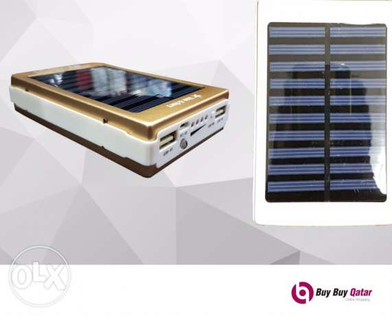 90,000mAh Solar Power Bank