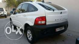 Ssangyong Actyon 2010 with 67000 kilometres only.