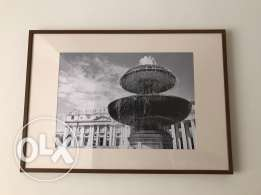 Photo of St Peter's Brasilica in Frame