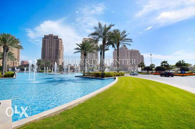 Furnished 1 bedroom with relaxing garden view