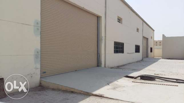 Warehouse 700 SqMr + 12 Room For Rent