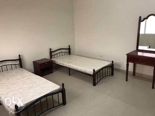 for excutive bachelor only 3 bed room apartment al; ghanim