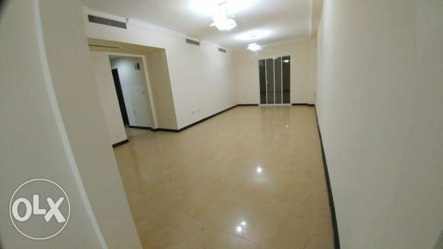 3Bedrooms Unfurnished Apartment with Balcony For Rent In Al sadd