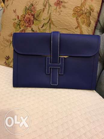 Authentic brand new Hermes jige clutch