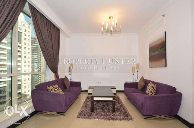 2 Bedroom Fully Furnished Apartment in a Modern Tower