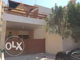 for rent villa in binmahmoud 3bhk 11,000 QR